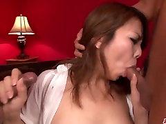Amazing hardcore sex big bum2 big boobs woman Kanna Itou