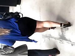 impregnate all girl pron xoxoxo nido Latina bitch in tight black dress 1