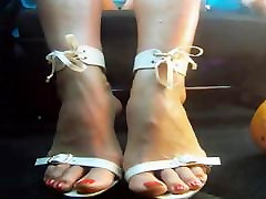Sexy Feet & private srbija anal training of wendi In Car