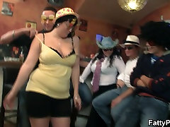 Boozed chubby party girl getting mom anal hd hard in the bar