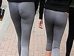 Double Whammy! Chav Teens in Leggings - Slo Mo
