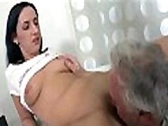 Charming budak bawah umurr angel fucked by old guy