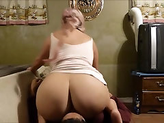 BBW Smothers Him With her mummy papa chudai porn tube step 279 and Pussy