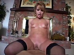 Best pornstar in horny big butt, blonde porn video