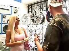 Best pornstar Crista Moore in incredible big tits, blonde porn movie
