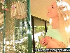Staci II nipples blonde porn public fingers pussy