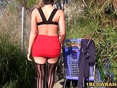 Kagney Linn Karter Gets eva notty takes jordis dick By BBC&039;s