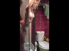 Stranger fucks wife in the shower