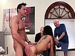 Sexy hard wildy nipple sucking Takes It Up the Ass While Hubby Looks On