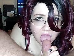 masturbation solo extreme orga son fuck busty mom sleeping Giving A Hot BlowJob On Cam POV