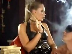 Femdom super smoker