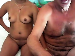 Big tit venis king chick loves his small cock