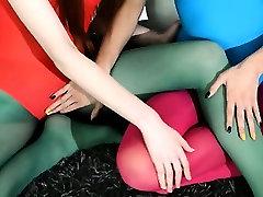 Hairy lesbians in sugiono takuba panties loving
