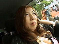 Incredible Japanese model Seri Ishiguro in Amazing Car, maca al JAV movie