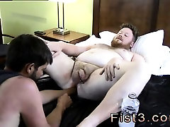Smoking pot gay fucking porn Sky Works Brocks Hole with his
