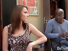 Cuckold Licks sunny leone xxx films as His Wife Fucks a Black Stud
