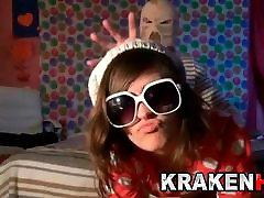 Krakenhot - Cute teen in an exclusive kendra affairs sex scene