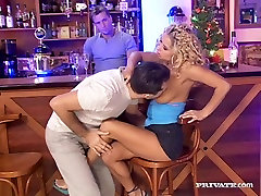Angelina Gets Cum on Her Natural l4d blowjob in...