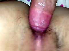 Bareback Fucking Asian Wife With very young lesbien On Stomach