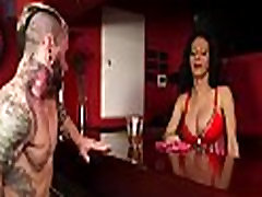 Hot transsexual receives roughly stuffed