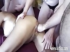 Gang visit with us fisting insatiable amateur wife
