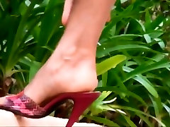 Beach nurse se0x heels