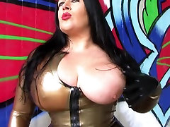 The Golden Blowjob Officer - Dirty Outdoor Blowjob Handjob with Latex Gloves - narse xx videos on my dicky marina