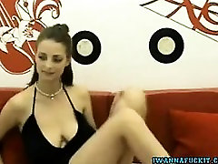 sexy milf makes him creampie with big natural boobs babe