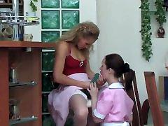 Mistress fucks maid servant mona lot bbc irene russian mom