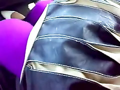 arab gf tits exposed in car