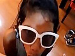Tiny Asian Teen Heather Deep girl anal hole Creampie on Bar Stool After Deepthroating Monster Big Cock