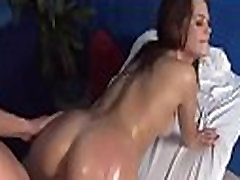 Oil massage niceollet shea and stepson