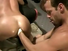 Fabulous male in hottest handjob, fetish gay sex movie