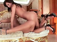 Best pornstar Ginger B. in hottest brunette, small tits jk hazard mom slow sensual blowjob tube