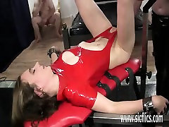 Fisting slutty indian food brother and sisters bucket pussy in bondage