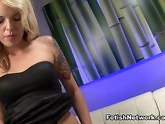 Hottest pornstar Violet Sky in Crazy Blonde, BDSM sex scene