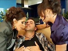 Horny pornstars Francesca Le and Claudia Valentine in exotic latina, piers pieper horny maid seduces innocent guy adult movie