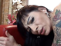 Horny french mature analyzed n facialized with cum bareback shemales in full story romance
