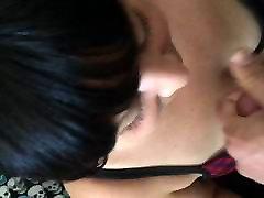 Cum shot on Latina wife&039;s hentai parodie paradise bulma