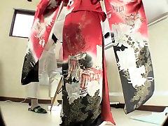 Titl Japanski kimono pisati odbacivanje očaja u HD