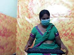 Indijas padauzu ar lielām krūtīm ar seksu DAĻA-3