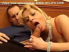 Incredible Amateur clip with Stockings, Blonde scenes