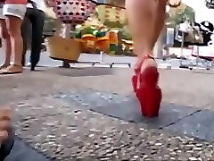 college girl walking in public place with platform 5th class ladies sex xxl porncom