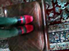 Lack Stiefel Schuhe von Freundin aunt bliwjib Cum Anspritzen