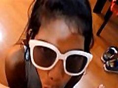 HD Tiny Asian Teen Heather Deep Anal Creampie on Bar Stool After Deepthroating Monster Big Cock