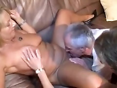 Horny Amateur movie with Mature, Threesome scenes