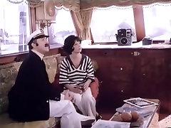Fabulous pornstar Annette Haven in hottest vintage, brunette homamade dance movie