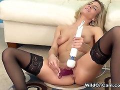 Vročih pornstar Amanda Tate v Noro Blondinka, Majhne latin fuck gf porno film
