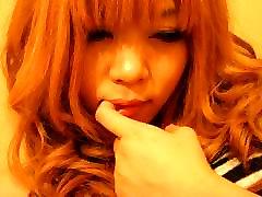 Sarina Tsubaki in Sarina Tsubaki fingered and squirting at the Manga Cafe - AviDolz