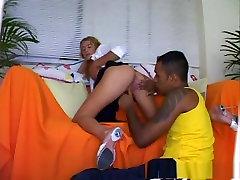 Amazing pornstar in exotic facial, interracial xxx scene